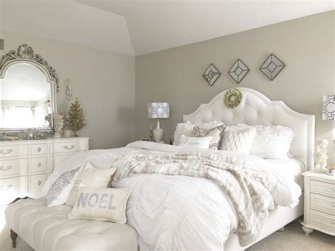 holiday decor  masterbedroom french country glam