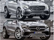 This is How The MercedesBenz MLC 63 AMG Might Look