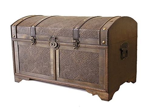 Large Bedroom Trunk by Nostalgic Medium Wood Storage Trunk Wooden Treasure Chest