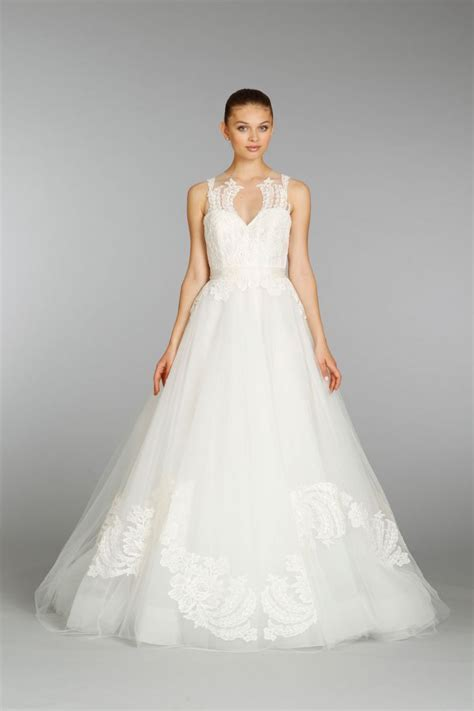 beautiful  wedding dresses  lazaro onewed
