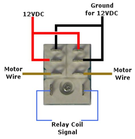 Diagram For Wiring Single Pole Throw Toggle by 12 Volt Pole Throw Relay Linear Actuators