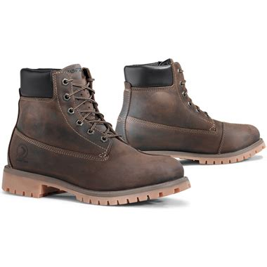 casual motorcycle riding boots forma elite casual waterproof motorcycle boots brown