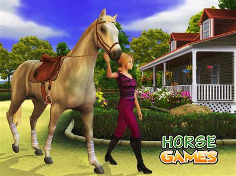 horse games pony