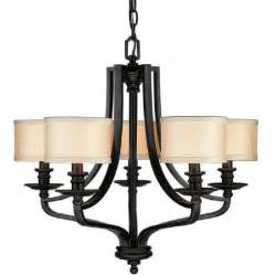 hton bay 5 light oil rubbed bronze hanging chandelier