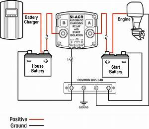 Three Wiring Diagram Battery To Charge