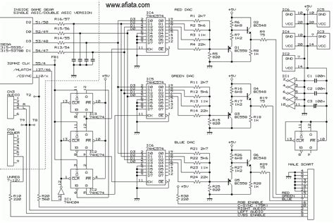 Vcr Antenna Switch Circuit Diagram by Circuit Board For A Sega Gear Electronic Circuit
