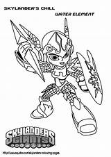 Skylanders Coloring Pages Printable Skylander Chill Print Party Sheets Feistyfrugalandfabulous Books Lego Boys Team Bts Parties sketch template