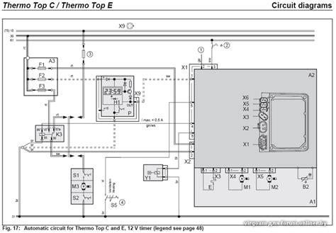 схема webasto thermo top v