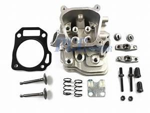 Honda Gx160 5 5hp Cylinder Head Set Valves  U0026 Springs Guide