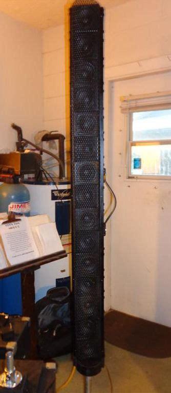 linear speaker array   build