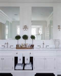 master bathroom cabinet ideas traditional shingle home with blue and white interiors home bunch interior design ideas