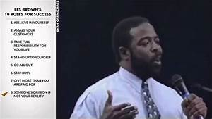 Les Brown's Top 10 Rules For Success YouTube 720p - YouTube
