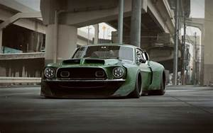 Wallpaper Ford Shelby Gt500, Tuning, Muscle Cars