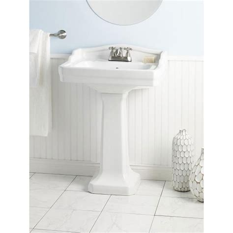 Pedestal Sink For Small Bathroom by Cheviot Essex Small Vitreous China Pedestal Bathroom Sink