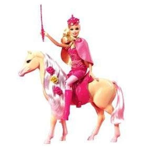 amazoncom barbie    musketeers doll  horse