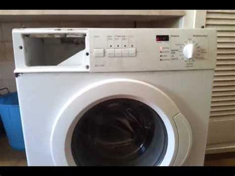 fallo lavadora bosch enr wfo170p youtube