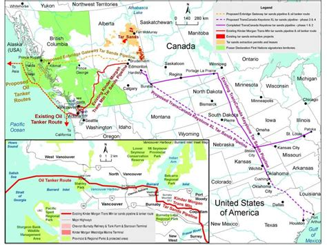 Kinder Morgan Trans Mountain Pipeline (TMPL) Expansion ...