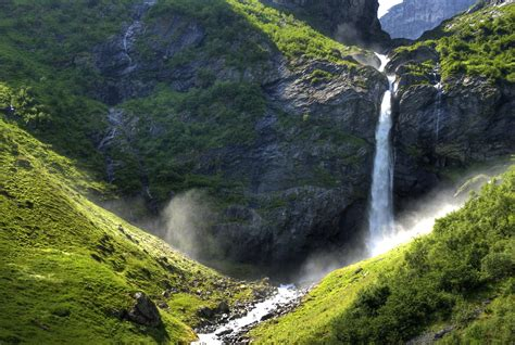 Waterfall in Oldedalen | From the riverfall at Gytri, Briksd… | Flickr