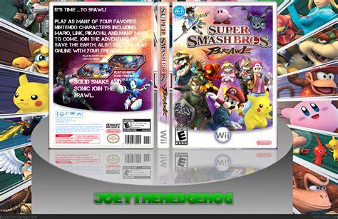Super Smash Bros Brawl Box Cover Comments ~ Super Smash Bros