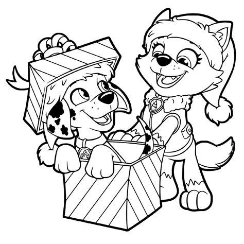 Paw Patrol Printable Coloring Pages The Coloring Page