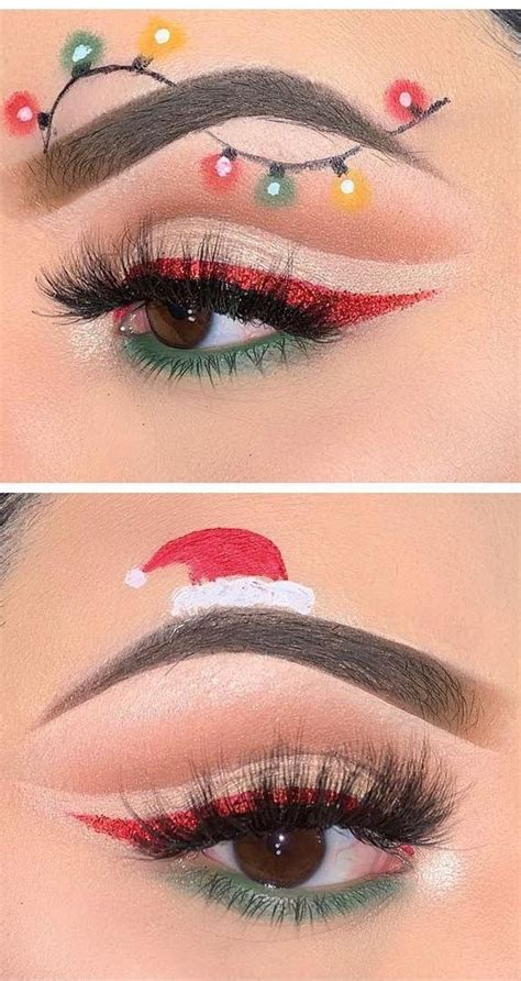 bewildering christmas makeup    funny  amazing   december page