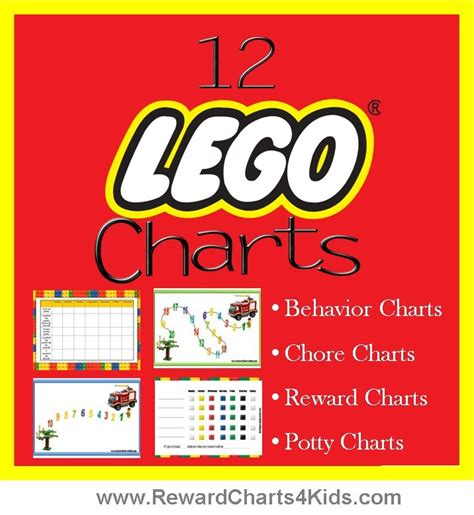 Behaviour Modification Rewards by Lego Reward Charts Behavior Charts Chore Charts Potty