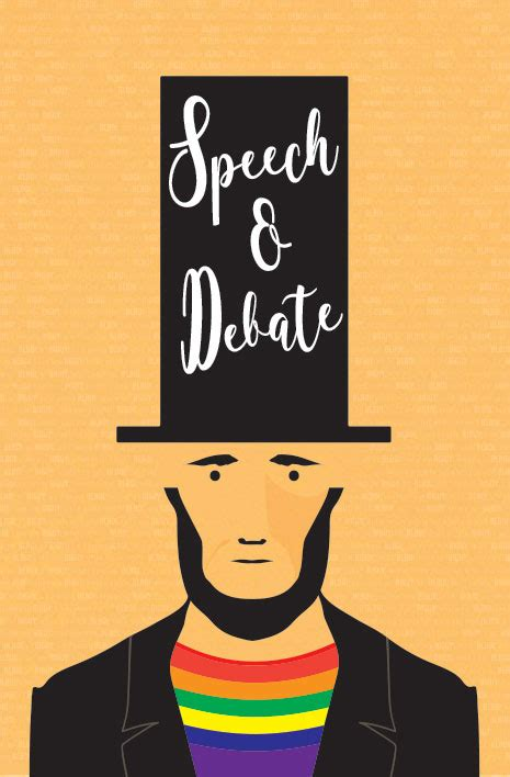 debate speech theatre poster stage dance
