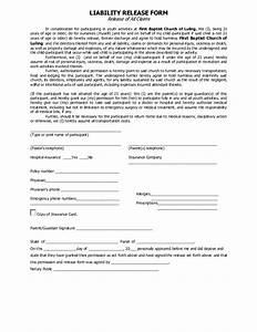 product liability disclaimer template best photos of With release from liability form template