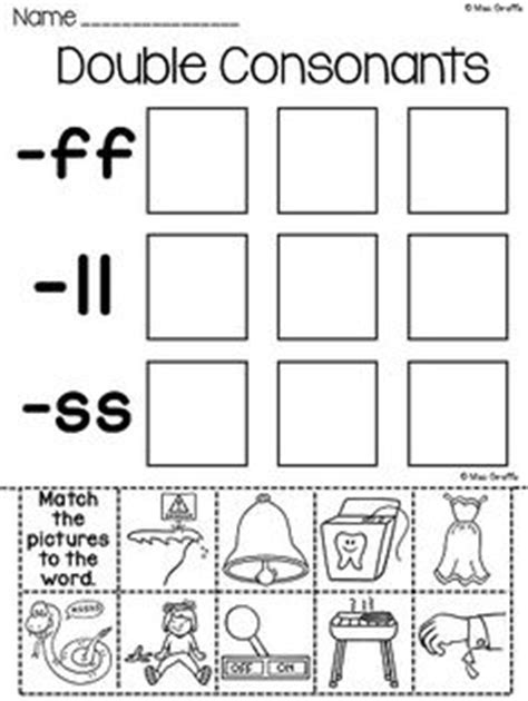 Double Consonant Word Sort From Priceless In Prep On Teachersnotebookcom  (5 Pages)  It Is A