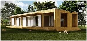 Maison Modulaire Bois : maison modulaire en bois natura bianca ~ Melissatoandfro.com Idées de Décoration