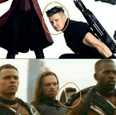 Has Hawkeye Been Spotted The Avengers Infinity War