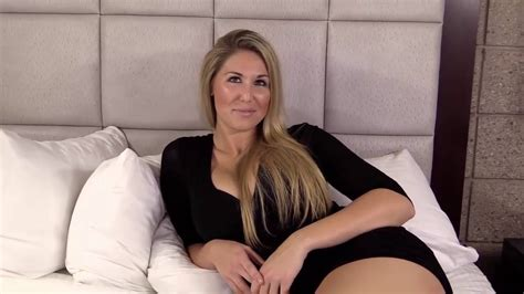 Sexy Blonde Telling Her Sex Story Part YouTube
