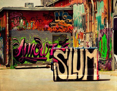 hop hip street wall painting urban graffiti culture decay spray paint modern fine