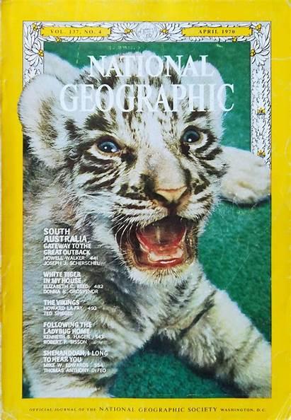 Geographic Magazine National April 1970