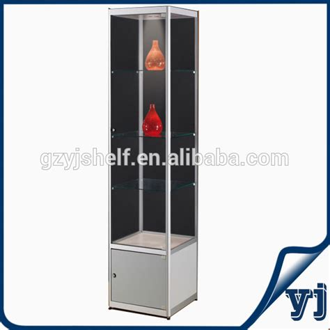 glass display cabinet hardware wall mount glass corner display cabinet commercial square