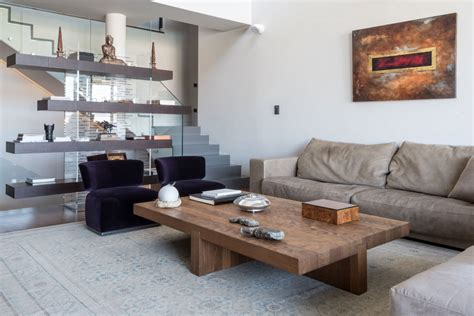If you have a sectional sofa with a chaise then it's recommended that the coffee table does not stick. Tips to Opt For Large Coffee Table which Look the Best - MidCityEast