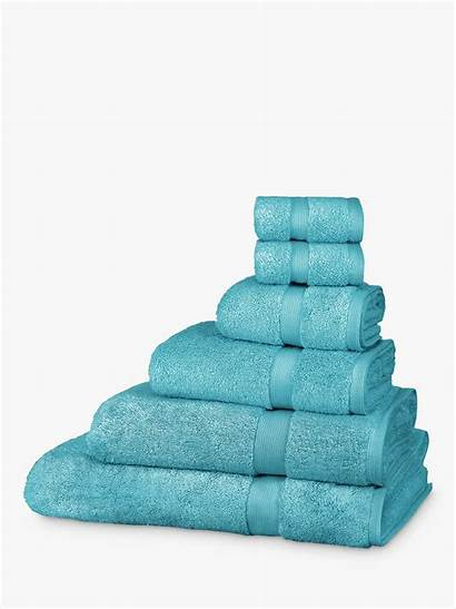 Lewis John Cotton Teal Egyptian Towels Partners
