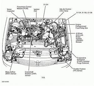 Oldsmobile 3 8 Engine Diagram Showing Sensors