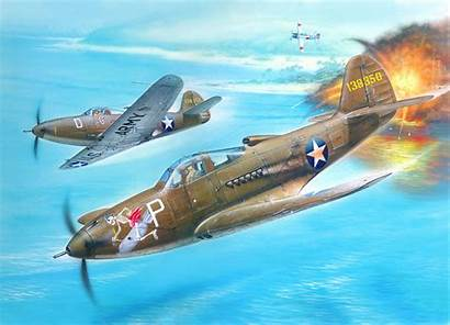 Aviation Aircraft Bell Military American 39 Airacobra
