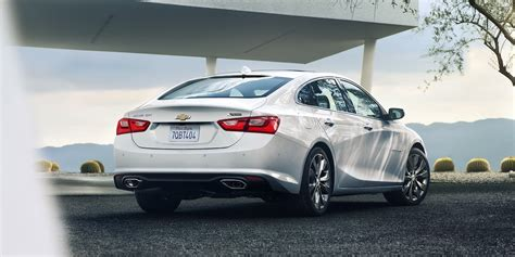 chevrolet malibu white  side rear view hd