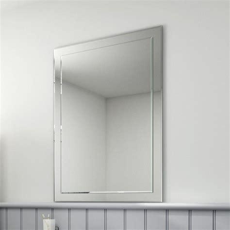 Cheap Bathroom Wall Mirrors by 20 Ideas Of No Frame Wall Mirrors Mirror Ideas