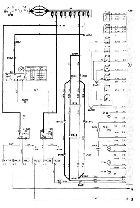 volvo c70 1998 2004 wiring diagrams convertible
