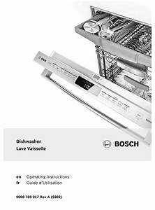 Bosch She65t52uc Operating Instructions Manual Pdf
