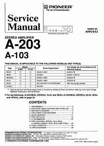 Pioneer Sa 9800 Service Manual