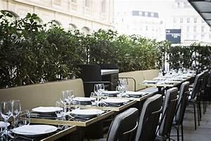 Restaurant Le Lazare : ouverture de la nouvelle terrasse du restaurant lazare sur le parvis de la gare saint lazare ~ Melissatoandfro.com Idées de Décoration