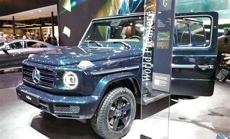 Mercedes 2019 G Wagon by 2019 Mercedes G Class Or G Wagon Revealed In Detroit
