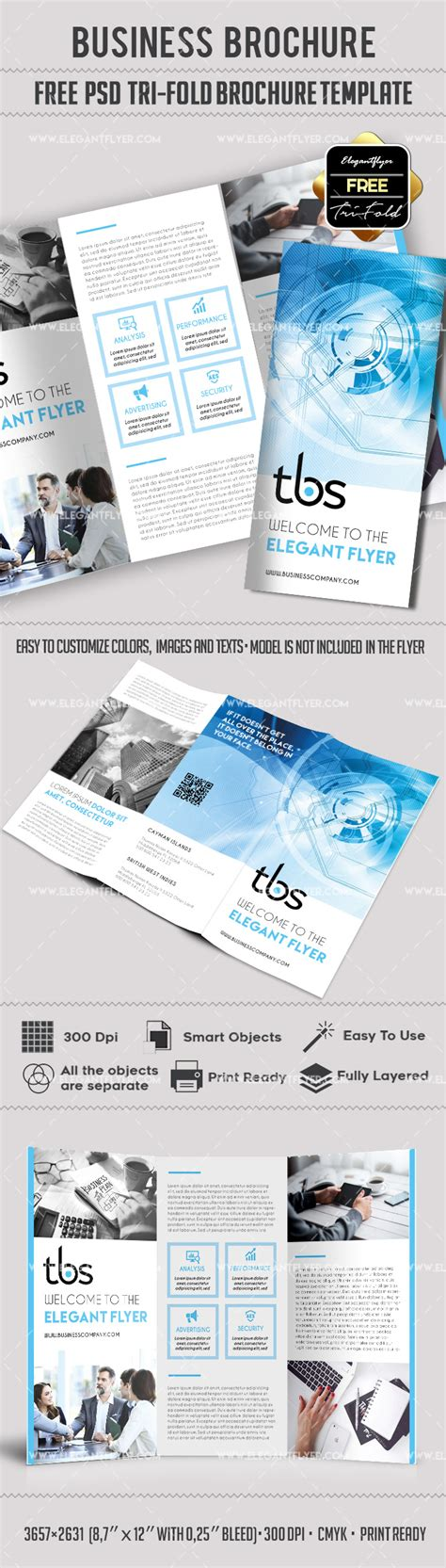 Tri Fold Brochure Templates Free By Elegantflyer Professional Free Tri Fold Brochure Template By Elegantflyer