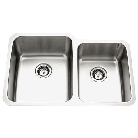 stainless undermount kitchen sink houzer medallion gourmet series undermount stainless steel 5738