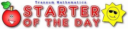 Starter Transum Lesson Starters Maths Mental Math