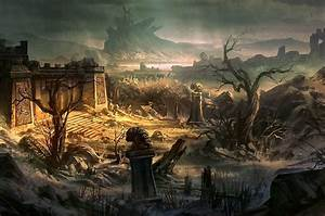 Ruins as far as can be seen Full HD Wallpaper and ...